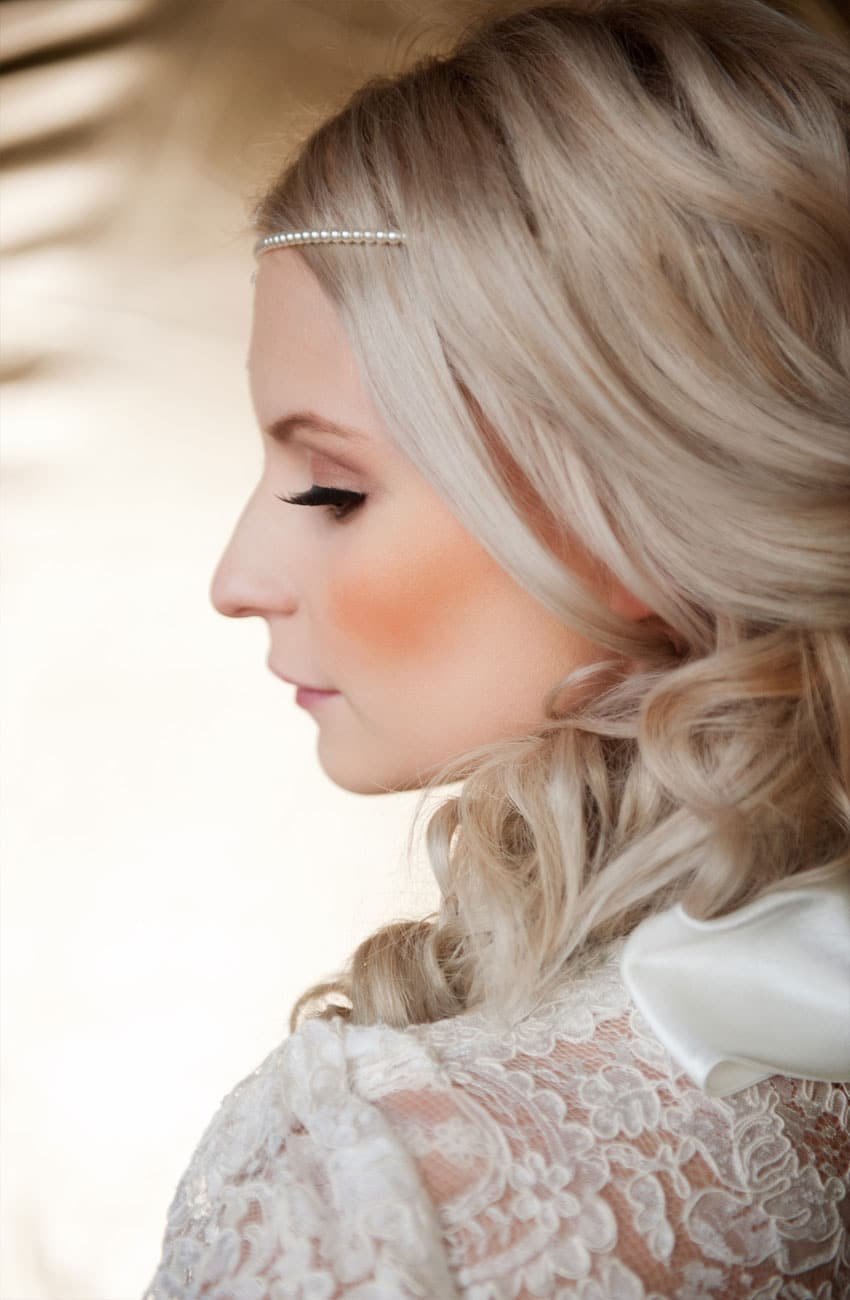 wedding hair & bridal make up - barbarella hair