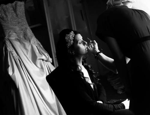Make-up for Leanne Bull